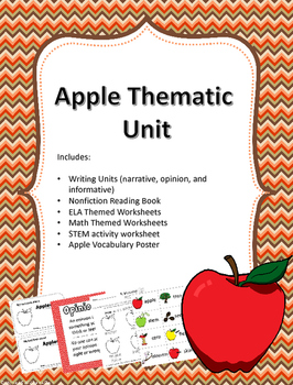 Apple Thematic Unit