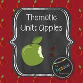 Apple Thematic Unit for Preschool-Kindergarten