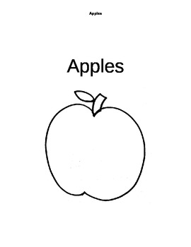 Apple Thematic Unit for Primary Grades