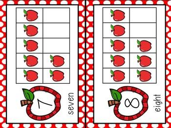 Apple Theme 10 Frames (1 - 20) ~ Complete & Blank Sets