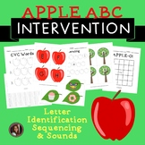 Apple Theme ABC Alphabet Activities {Letter ID, Sounds & S