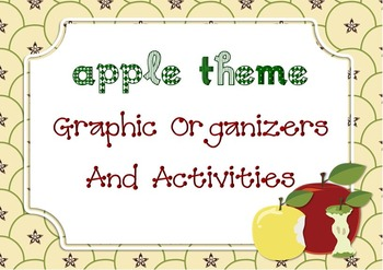Apples Theme - Apple theme and activities for any classroom - ELA, Math, Science