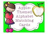 Apple-Theme Alphabet Matching Cards
