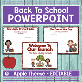 Apple Theme Back To School Powerpoint For Open House and M