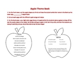 Apple Theme Book of Songs, Poems, and Recipe
