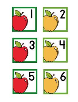 Apple Theme Calendar Numbers