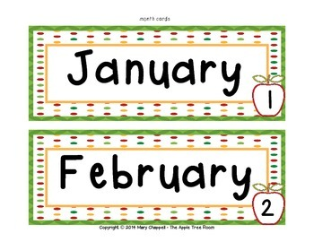 Calendar Set - Apple Theme