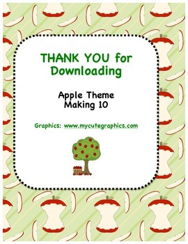 Apple Theme - Can You Make 10?