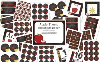 Apple Theme Decor
