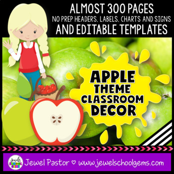 Apple Theme Classroom Decor
