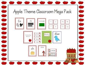 Apple Theme Classroom Mega Pack
