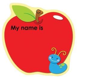 Classroom Theme: Apples