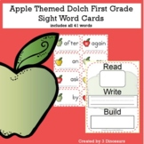 Apple Theme Dolch First Grade Sight Words