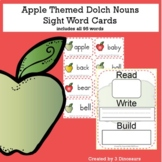 Apple Theme Dolch Noun Sight Words