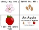 Apple Theme Foldable Early & Emergent Readers ~Set of 7~