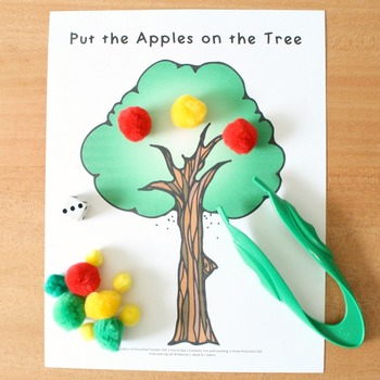 Apple Theme Home Preschool Lesson Plans