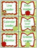 Apple Theme Job Labels