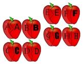 Apple Theme Literacy Games