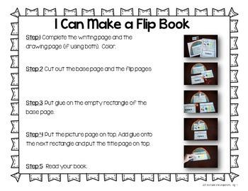 Apple Theme {Little Books for Little Writers}