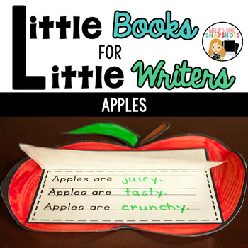 Apple Theme {Little Books for Little Writers}