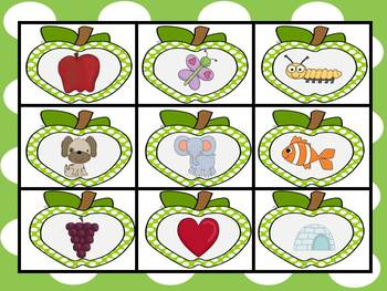 Apple Theme MEGA Literacy Pack ~ Letter Recognition, Beginning Sounds & More