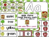 Apple Theme MEGA Literacy Pack ~ Letter Recognition, Begin