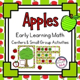 Apple Theme Math Centers & Small Groups ~ Counting, Patter