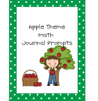 Apple Theme Math Journal Prompts
