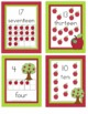 Apple Theme Number Posters 0-20 - 10 Frame