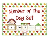 Number of the Day Set - Apple Theme