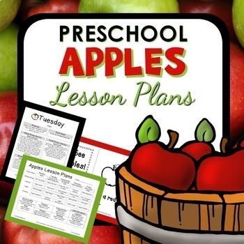 Apple Theme Preschool Lesson Plans