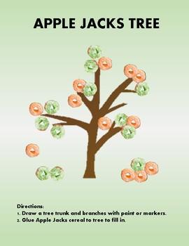 Apple Theme - Preschool & Kindergarten Lesson Plans - Ultimate Bundle