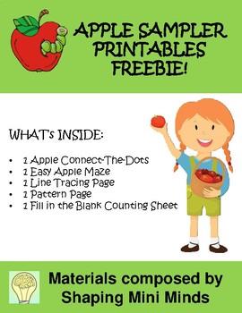 Apple Theme - Printables Sampler Freebie