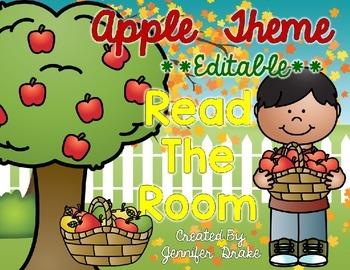 Apple Theme Read the Room EDITABLE