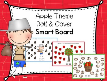 Apple Theme Roll And Cover For Smart Board Includes Paper Copy