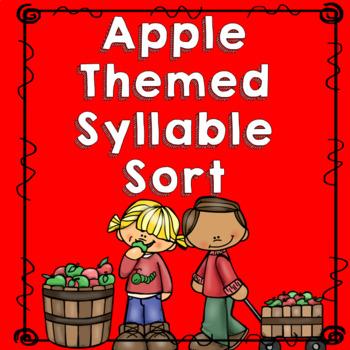 Apple Theme Syllable Sort