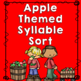 Apple Theme Syllable Sort