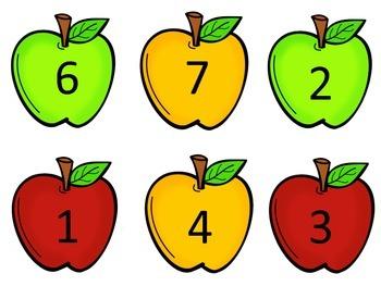 Apple Theme Ten Frames