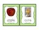 Apple Theme Vocabulary Cards