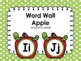 Apple Word Wall (Dollar Deal)