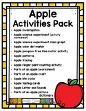 Apple Themed Activities Pack