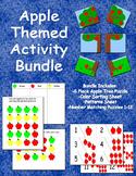 Apple Themed Activity Bundle