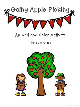 Fall Add and Color Activity