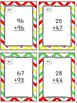 Apple Themed Addition With Regrouping Task Cards & Game