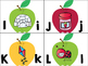 Apple Themed Alphabet Matching/Puzzle Cards