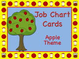 "Apple Themed ""Apple of My Eye"" Job Chart Cards / Signs Classroom Management!"