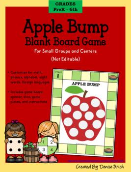 Blank Bump Game Board (Apple Theme)