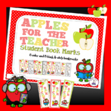 Apple Themed Bookmarks - FREE
