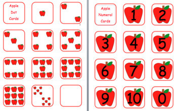Apple Activities: Math, Newsletter, Name Practice, Game & Apple Graph! (bundle)