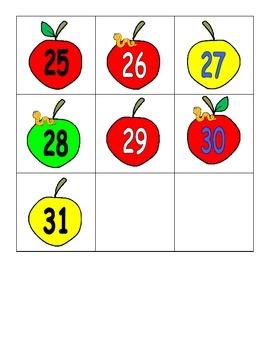 Apple Themed Calendar Pieces